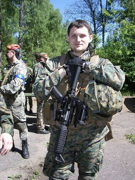 Александр Филипчик в Минске, 2010 год.